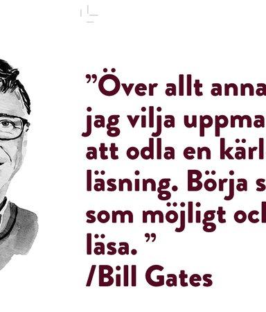 Galen jakt på gott råd från Bill Gates