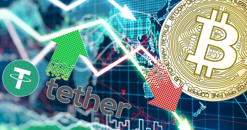Daily crypto: Wide declines in the markets – but tether is rising.