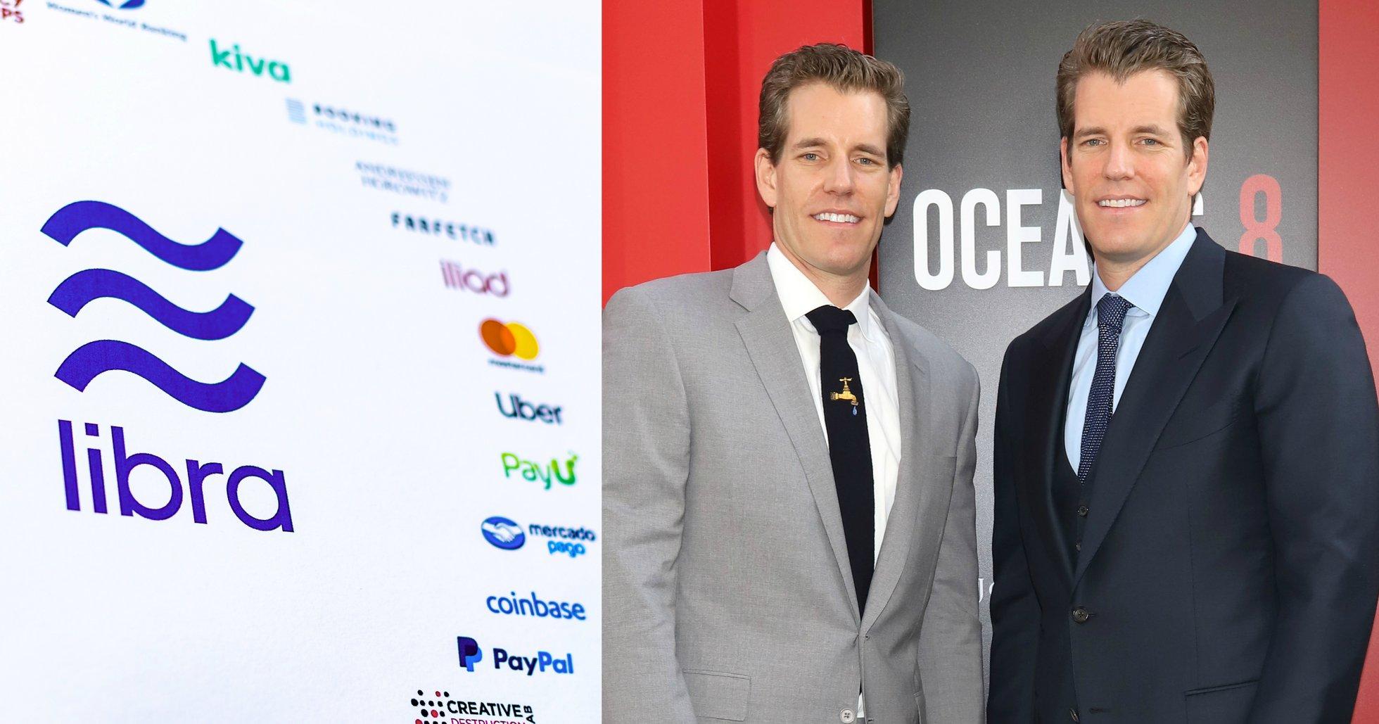 Tvillingarna Winklevoss vill jobba med Facebook igen – för samtal om att ansluta sig till Libra Association.
