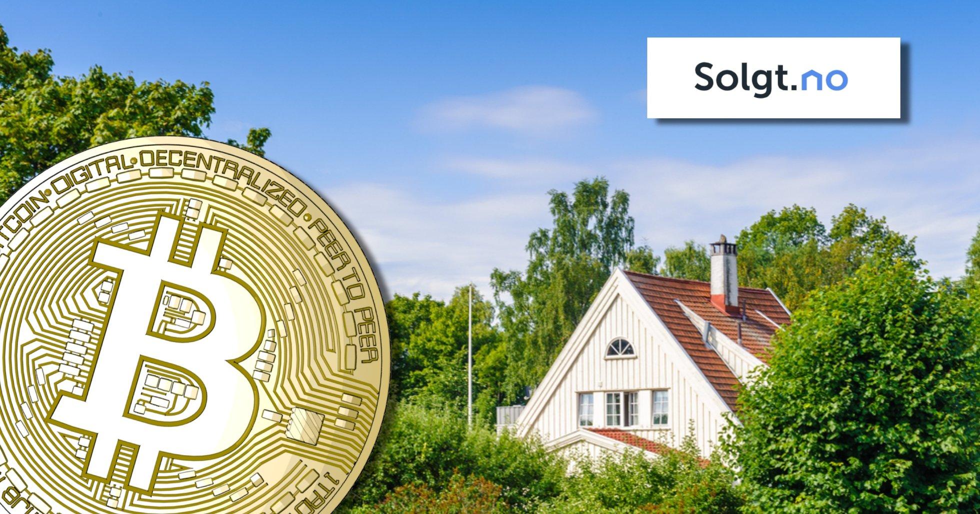 Norsk bostadssajt ska investera delar av sitt kapital i bitcoin