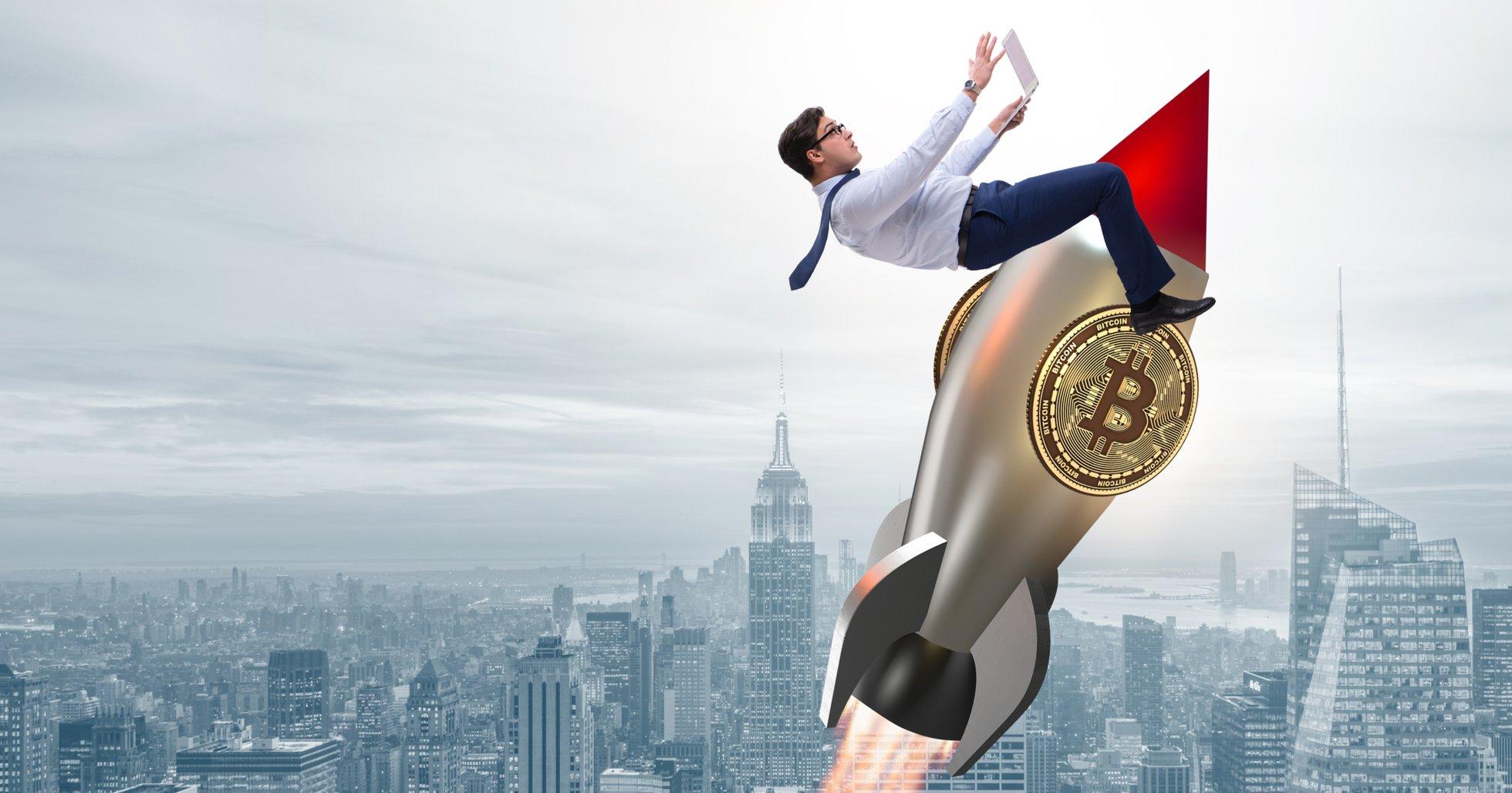 Bitcoin visar styrka – har stigit nästan 7 procent under det senaste dygnet.