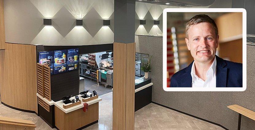 Enligt McDonalds presschef Henrik Nerell är stängningarna en effekt av en uppdatering av samtliga svenska restauranger.  FOTO: McDonalds