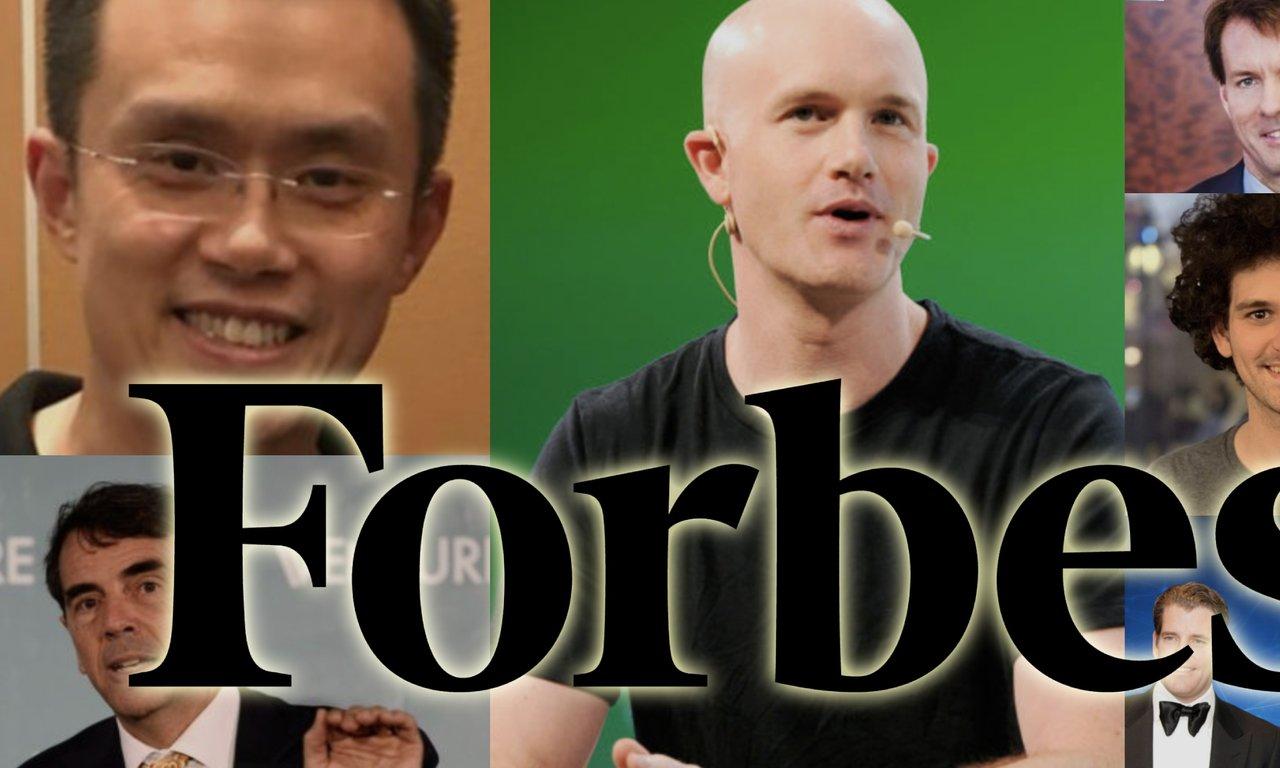 Stor sammanställning: Alla kryptomiljardärer på Forbes riklista