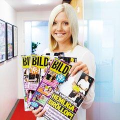 Anna Shimoda är nyhetschef för Hänt Extra och Hänt Bild.