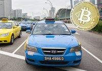 Taxibolag i Singapore låter sina kunder betala med bitcoin: