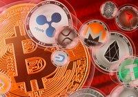 Bitcoinpriset fortsätter nedåt – xrp går mot strömmen