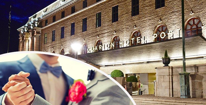 Clarion Hotel Post i Göteborg vill stödja allas lika värde. Därför är de med och sponsrar Pride.