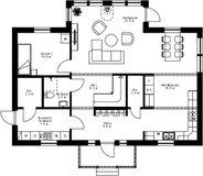 Se planritning för Villa Högslätten