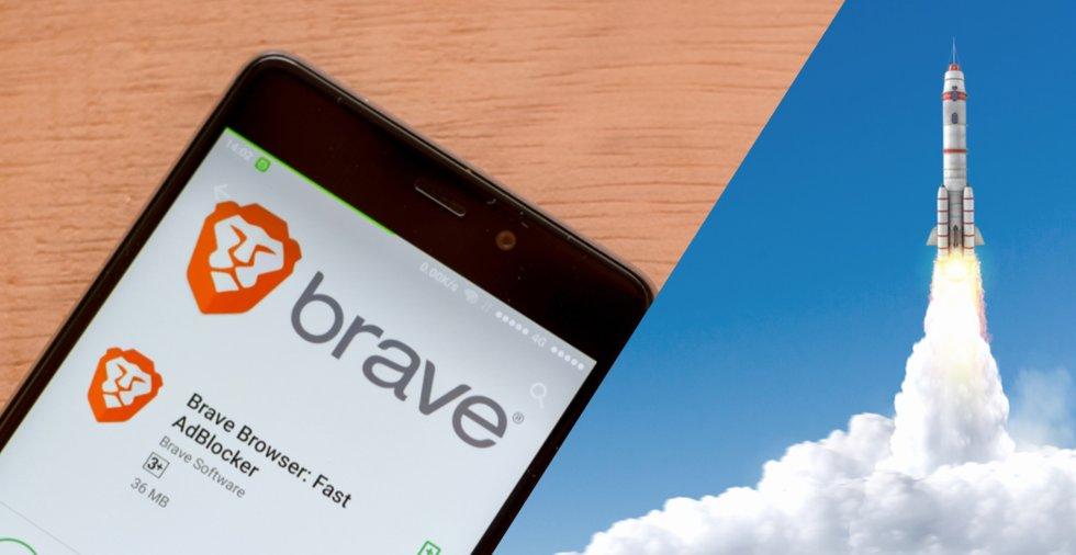 Succé för kryptowebbläsaren Brave – har över fyra miljoner användare varje dag