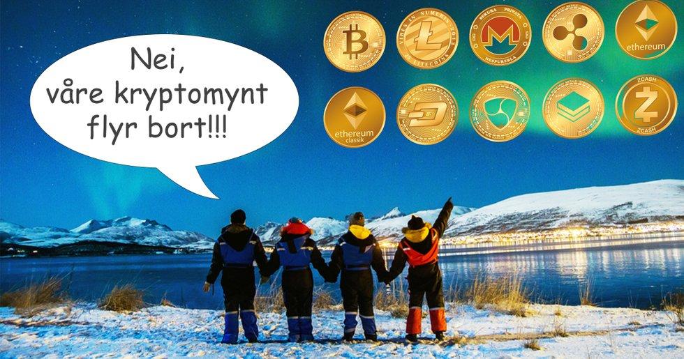 Norska börsen paniksålde alla kryptovalutor – nu vill de betala tillbaka allt till kunderna