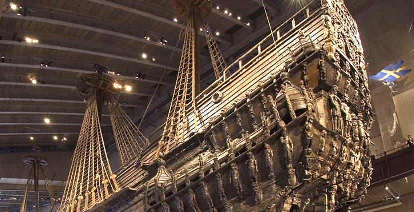 Sveriges mest välbesökta museum är alltjämt Vasamuseet i Stockholm.  Foto: Vasamuseet
