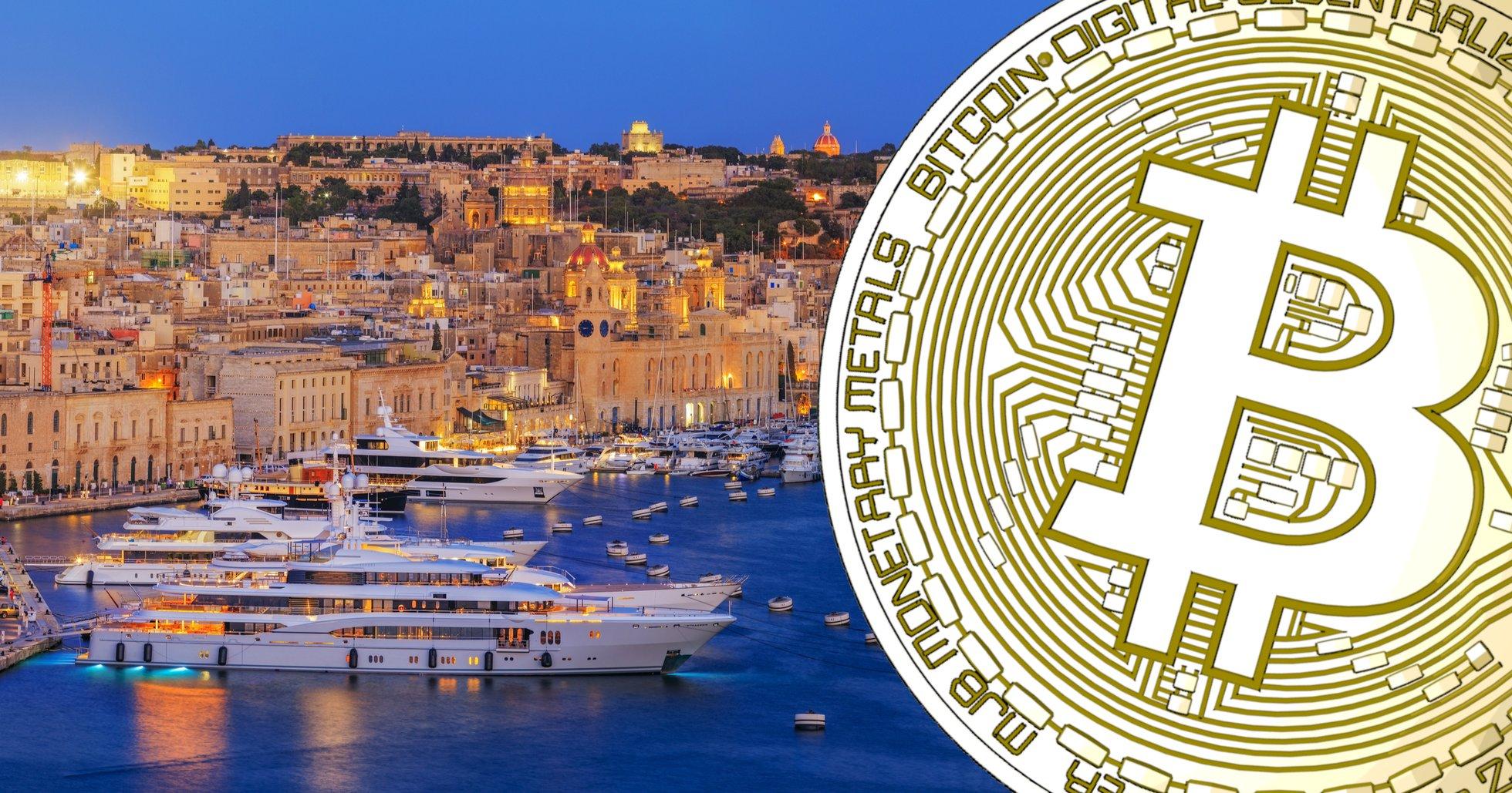 Kryptovänlig bank på gång på Malta – Binance och Polychain två av investerarna.