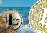 Litecoin är den enda som ökar bland de största kryptovalutorna