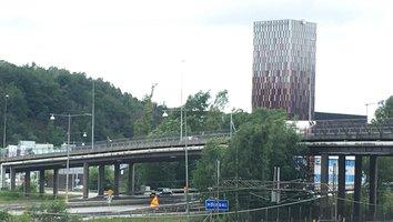Lackarebäcksbron öppen för trafik