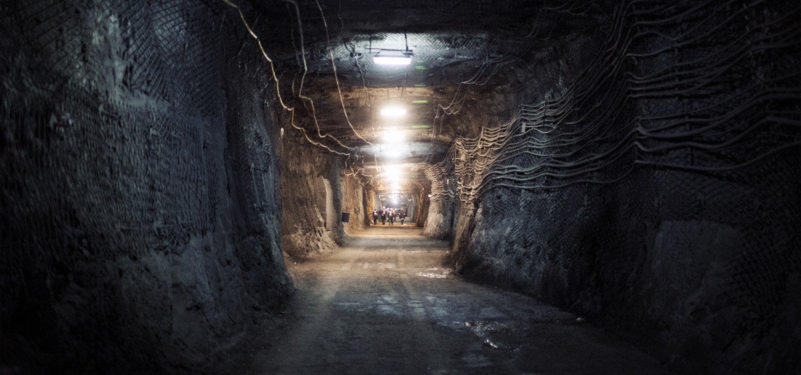 Every day, around 6,000 people head underground to work in the Rudna mine.