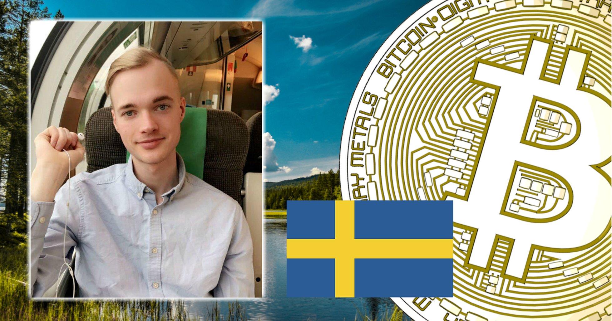 Mikael, 26, nobbar svenska kryptojättarna – för uppstickaren Btcswe:
