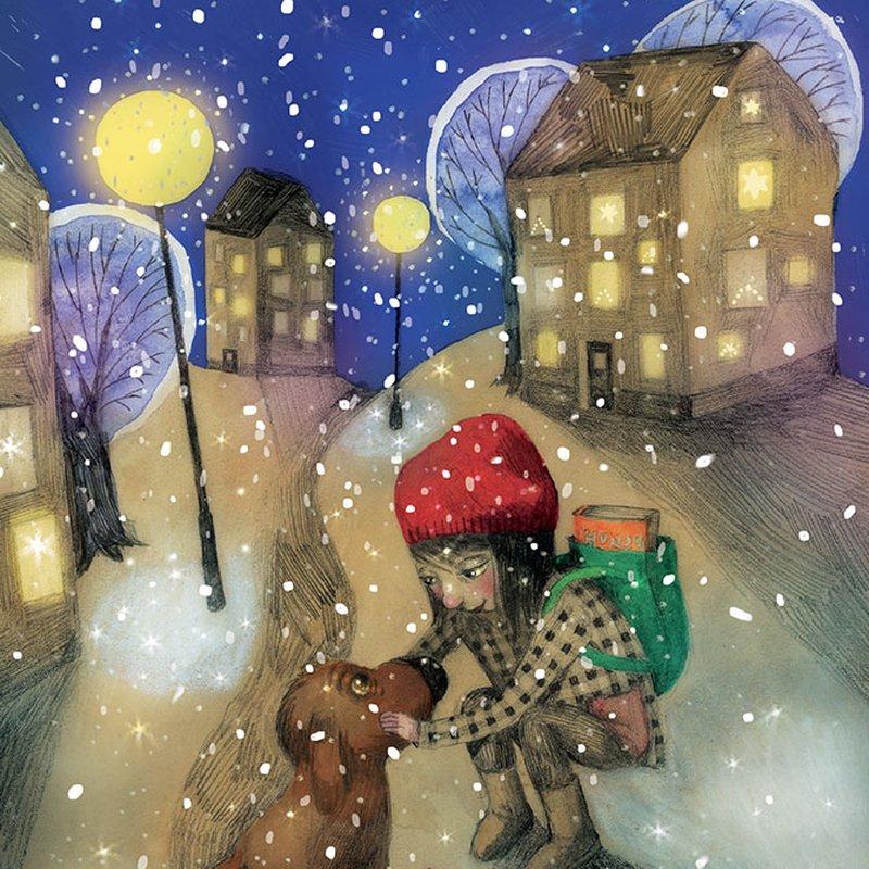 Peppa inför julen — smygläs första kapitlet ur julberättelsen <em>Magisk december</em>
