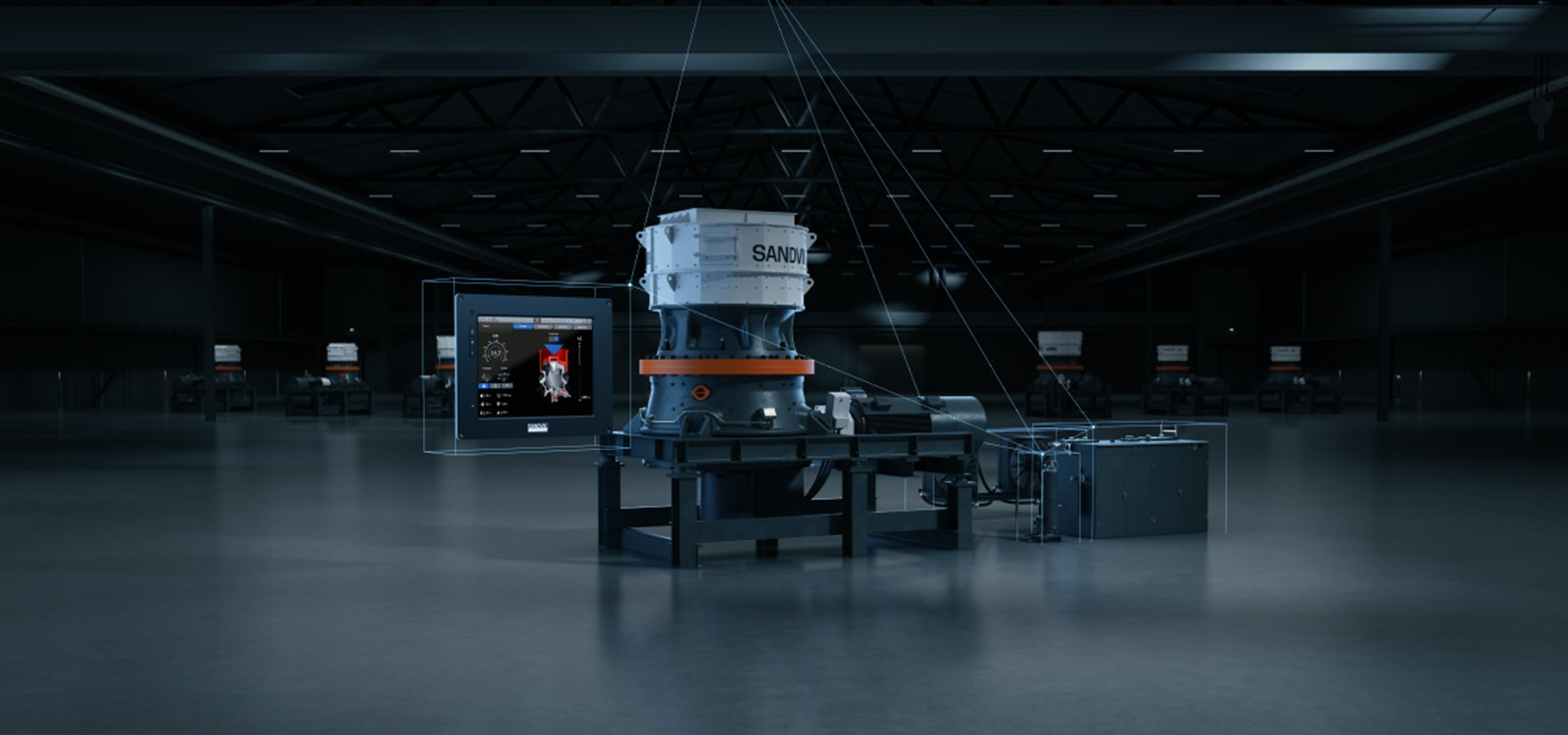 <p>The new Automation and Connectivity System from Sandvik offers a more accurate picture of the crushing process.</p>