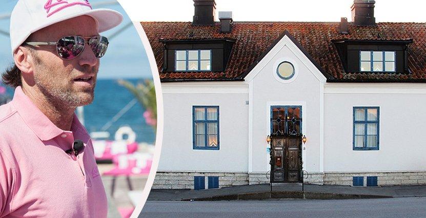 Almedalens hotell har 18 rum. Den 30 november tar Tobbe Larsson över driften. Foto: Almedalens hotell