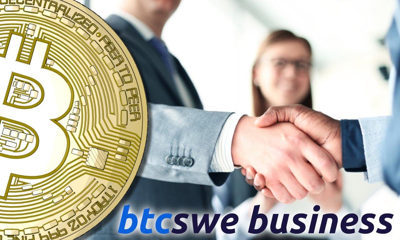 Så här enkelt köper du bitcoin som företag – via svensk växlare.