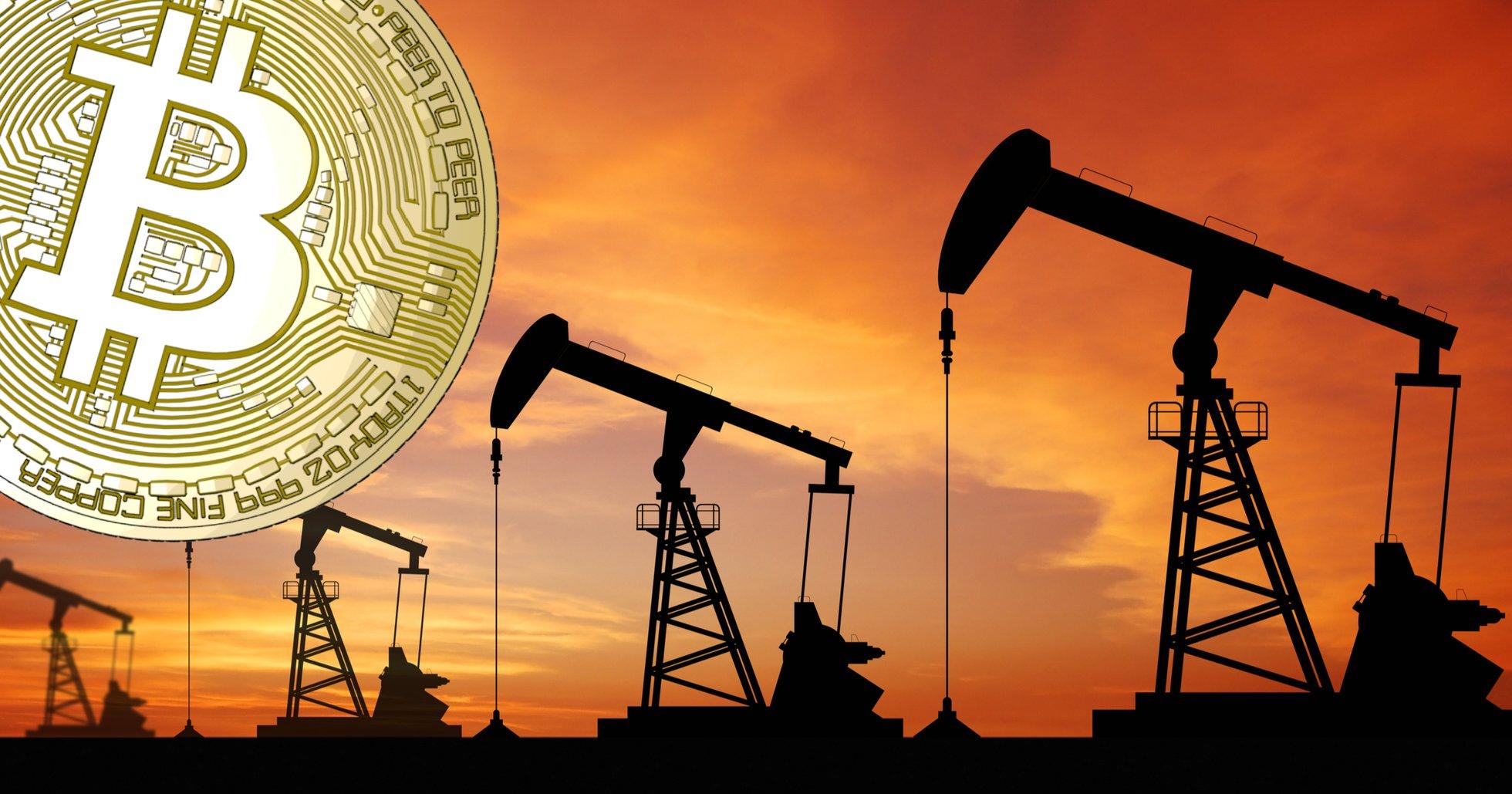 Historiskt ras för olja – bitcoinpriset håller emot.