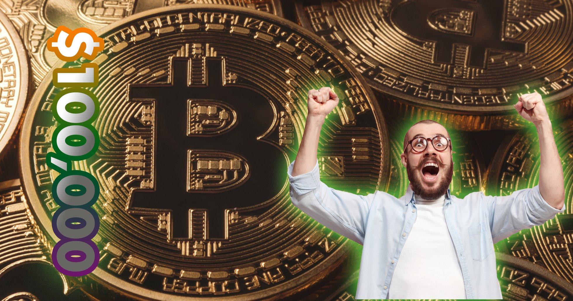Nu kan du satsa pengar på att bitcoin kommer nå 100 000 dollar under 2020