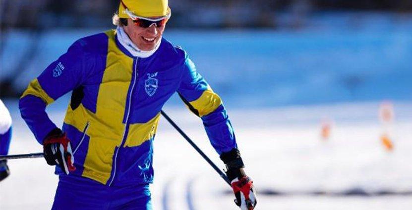 Erik Wickström slog nytt världsrekord i Årefjällsloppet.