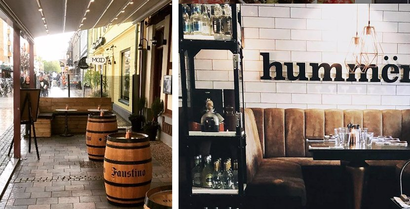 Hummer Grill & Bar i Halmstad har tappat cirka<br />  tio procent av sin omsättning under året. Foto: Hummer Grill & Bar