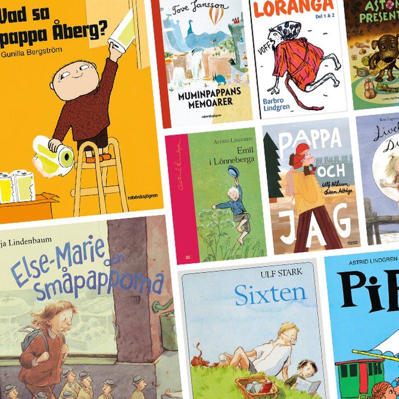 7 barnbokspappor vi älskar - och en vi är livrädda för
