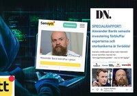 Samnytt fick miljonstöd av staten – nu gör sajten reklam för bitcoinbedrägeri