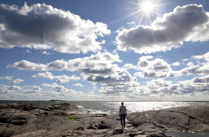 """Med Tove Janssons brorsdotter Sophia på Klovharun: """"Tove hade alltid en speciell relation till öar"""""""