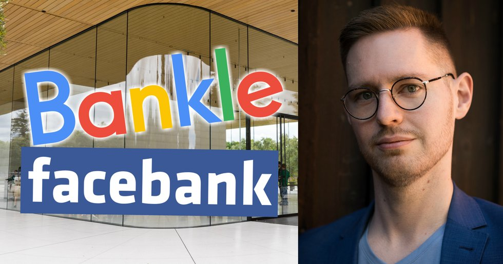 What happens if we get a Google of banks that controls 90.3 percent of the global financial market?