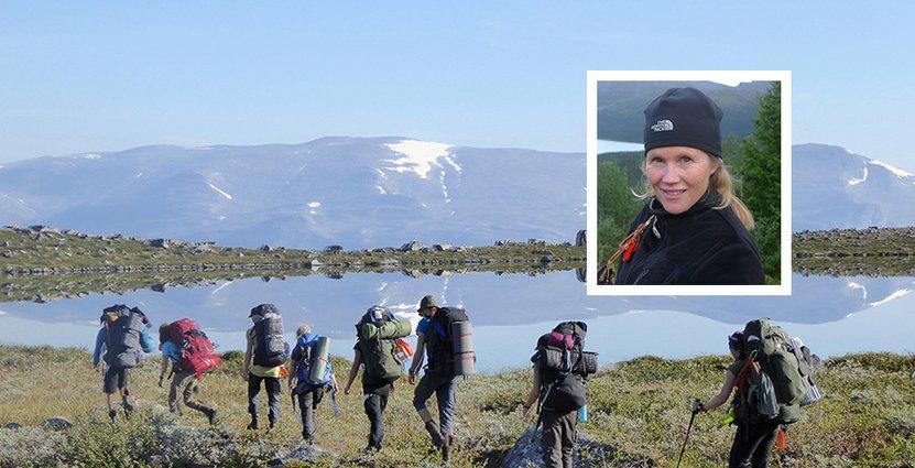 Åsa Ohlin är kursföreståndare på den jubilerande fjälledarlinjen på Storumans folkhögskola.