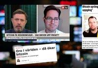 Bitcoinpriset rusar – då rapporterar svenska medier om kryptovalutans framfart