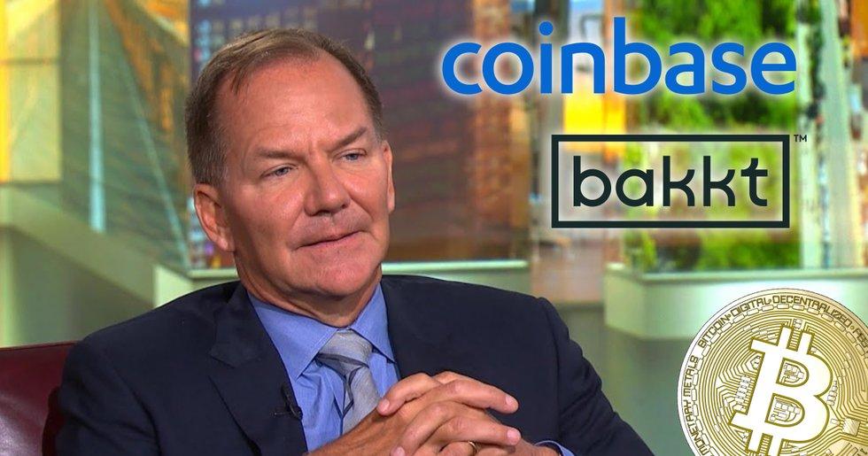 Coinbase och Bakkt bakom Paul Tudor Jones bitcoinköp