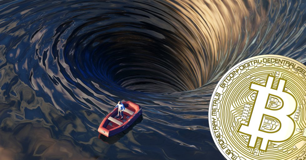 Bitcoinpriset fortsätter sjunka.