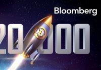 Analys från Bloomberg: Sannolikt att bitcoinpriset når 20 000 dollar innan årets slut
