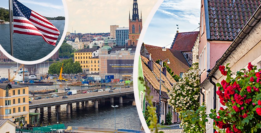 Turismen fortsätter att växa i Sverige. Foto: Colourbox