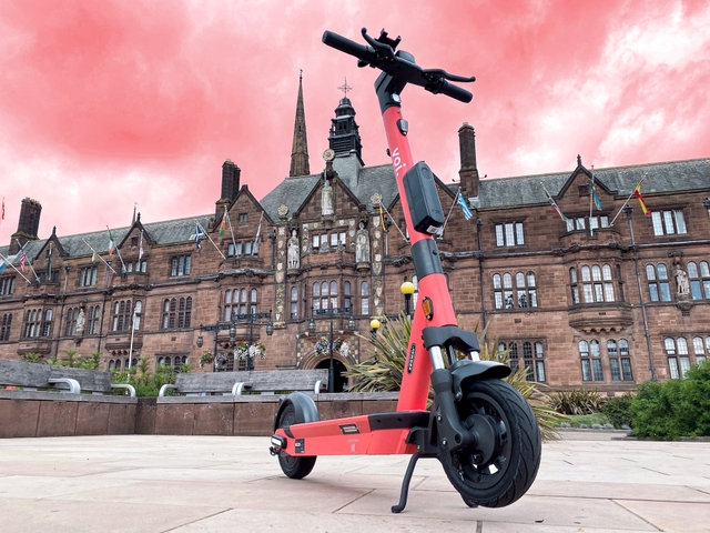 Birmingham and Coventry get ready to roll today, as Voi e-scooters hit the streets