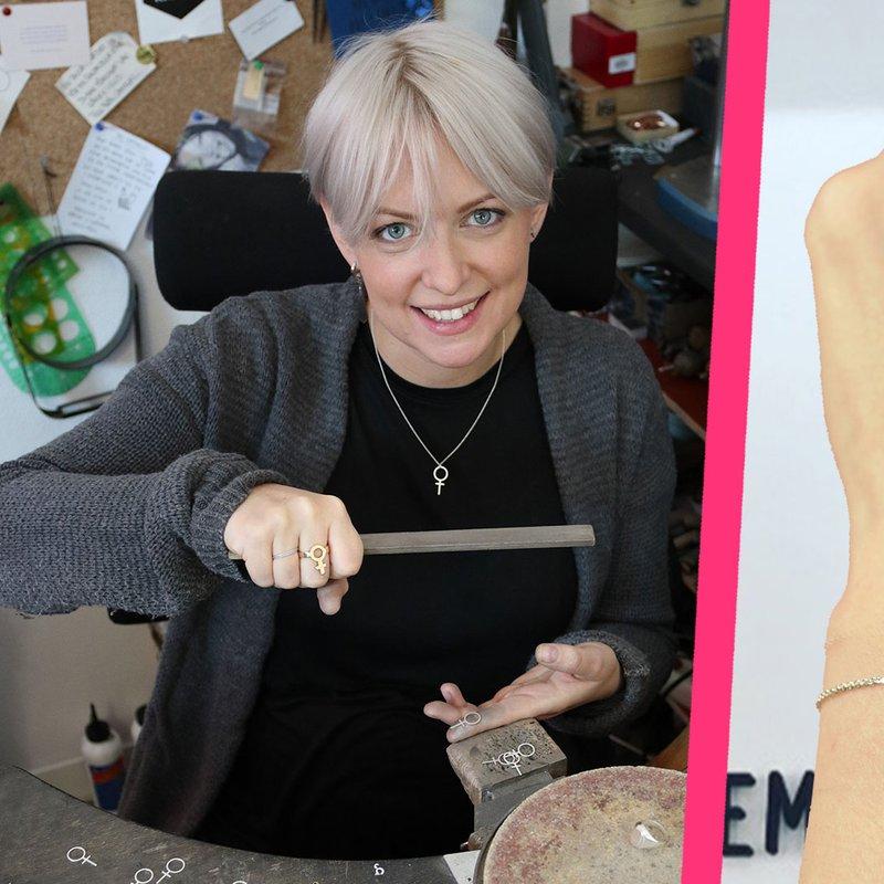 """Feministsmeden Nathalie A. Wåhlin: """"Vi feminister måste synas för att höras!"""""""