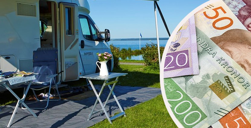 230000 svenska gäster var anslutna till Camping Key Europe - appen förra året. Foto: SCR, Svensk Camping