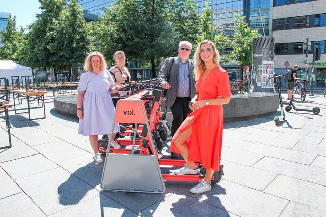 Enormous demand for e-scooters in Norway: Voi calls for more parking spaces and a tender competition on behalf of users in Oslo