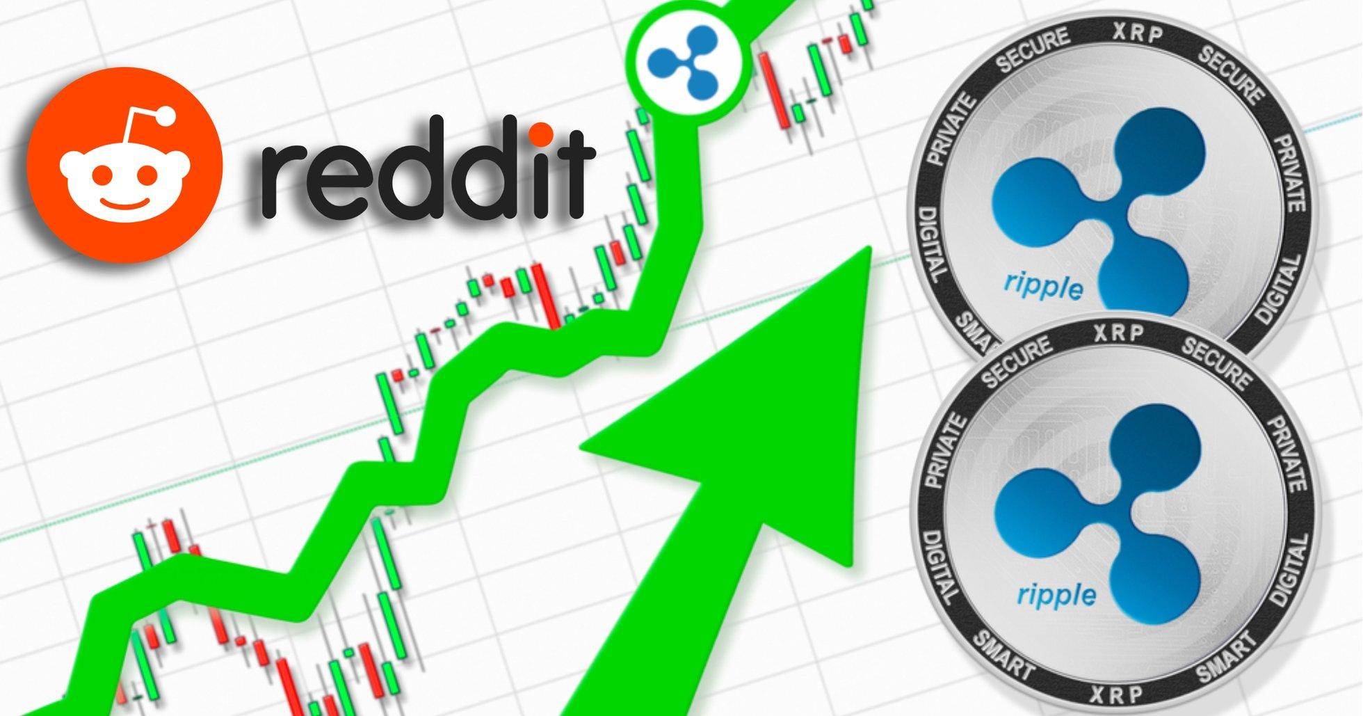 Uträknade xrp rusar i pris med 137 procent – efter draghjälp från Reddit