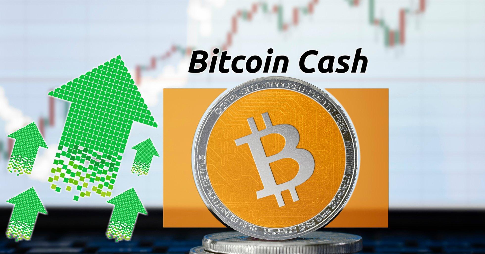 Kryptomarknaderna pekar svagt uppåt – bitcoin cash ökar mest av de största valutorna.