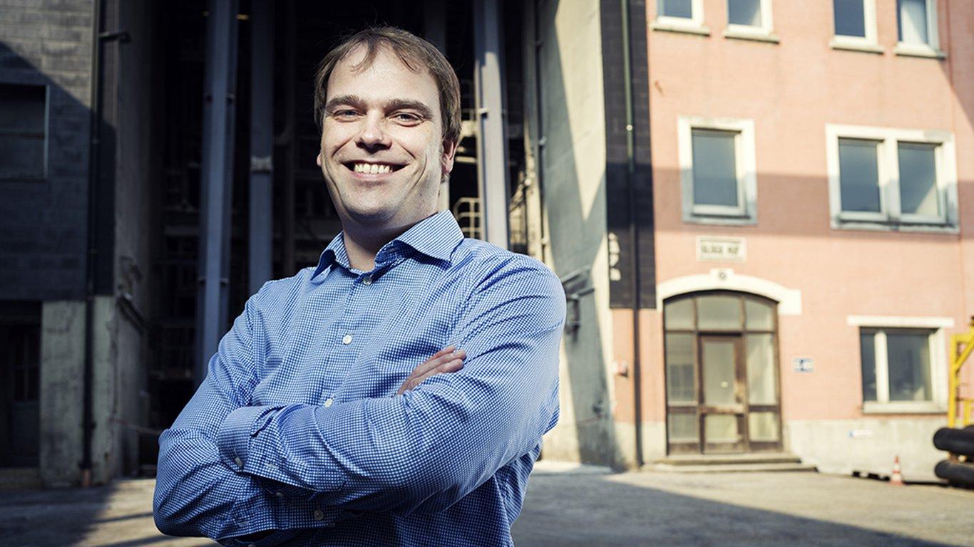 <p>David Saage, jefe de la unidad de minería de sal en la mina de Heilbronn de Südwestdeutsche Salzwerke AG.</p>