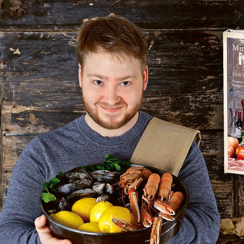 Sveriges Mästerkock 2018 är Erik Hammar – nu kommer kokboken!