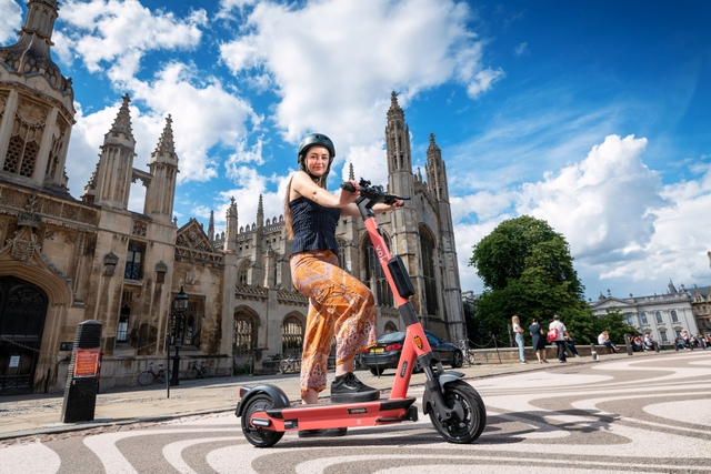 Say hello to Voi e-scooters, Cambridge!