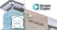Arcane Cryptos aktiepris upp med över 50 procent – efter nytt banksamarbete