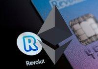 Antalet svenskar som köper ethereum hos Revolut har ökat med 36 procent