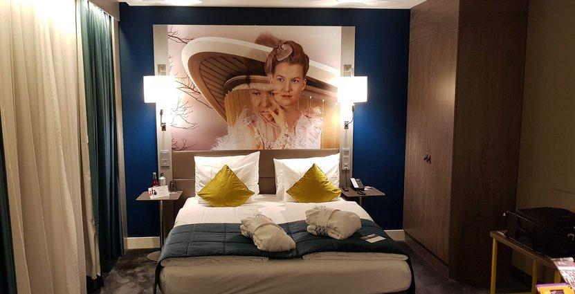 Hotellets kommersiella team arbetar tillsammans mot ett gemensamt mål för att sälja hotellrummen Anders Johansson